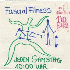 Fascial Fitness, jeden Samstag 10.00 Uhr